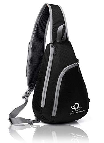 Waterfly Chest Sling Shoulder Backpacks Bags Crossbody Rope...