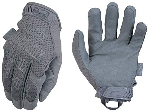 Mechanix Wear – Original Wolf Grey Tactical Gloves (Large, Grey)