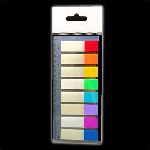 buy-safe Pagemarker transparente Haftstreifen 200 Stück 12x45mm