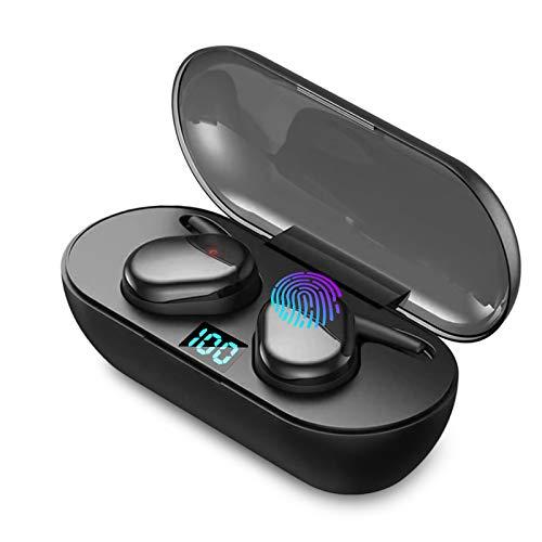 Écouteurs sans Fil Bluetooth 5.0 avec réduction de Bruit, écouteurs Sportifs avec IPX7 écouteurs stéréo étanches dans l'oreille Intégré HD Mic Casques pour iPhone/Android/Samsung/Xiaomi
