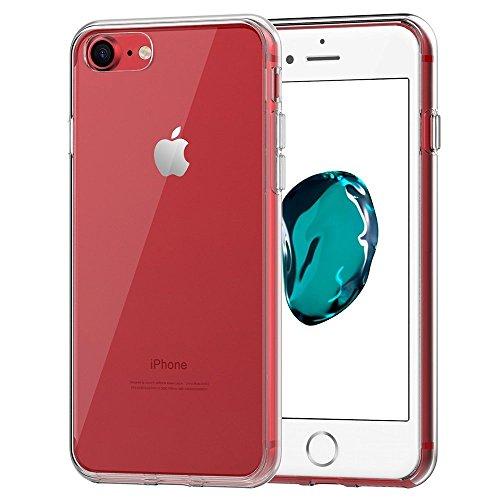 AVIDET For Apple iPhone 8 Plus ケース 衝撃吸収バンパー アンチスクラッチ ソフト iPhone8 Plus TPU アイフォン8 Plus ケース (iPhone 7 Plus ケース クリア)