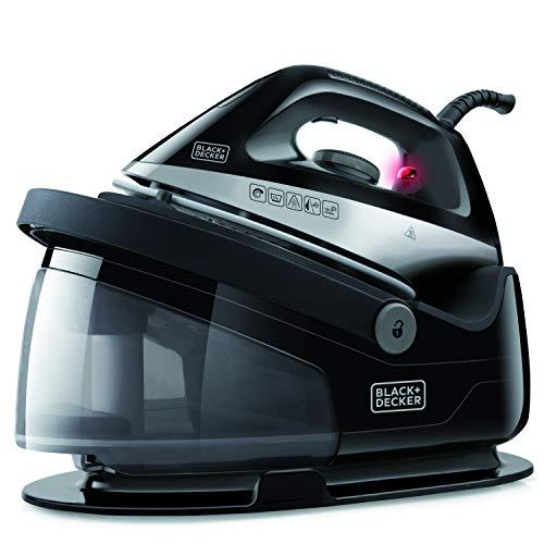 BLACK+DECKER BXSS2200E - Sistema stirante a vapore, carica continua, getto di vapore 120g/min. piastra in ceramica,...