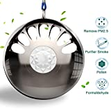 ZERLA Portable Air Purifier Wearable Necklace USB Car Air Cleaner Negative Ion Generator Personal Air Freshener for Adult & Kids (Three Modes)