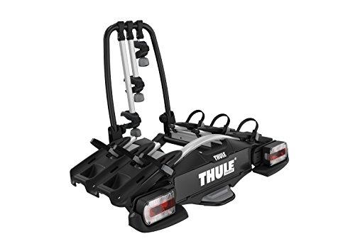 Thule VeloCompact 3 7-pin, portabici su gancio di traino leggero e compatto per l'uso quotidiano...