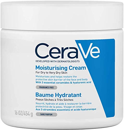 Crema hidratante de jabón CeraVe, 454 g