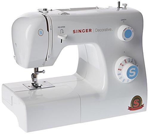 Singer Decorative Machine à Coudre Blanche 31 Points Ajustables