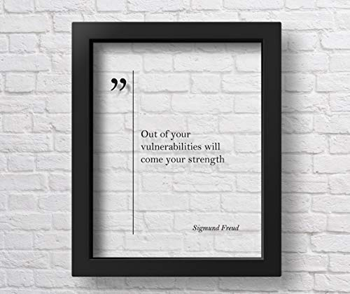 Marchak Transparent Sigmund Freud Quote Motivational Wall...