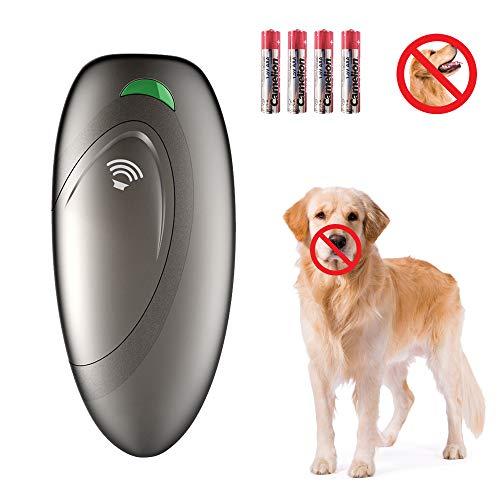 VINSIC Anti-Bellen-Gerät, Ultraschall-Hundebellen - Sichere und Schmerzfreie Hunderkontrolle für den Innen- und Außenbereich - Halsband Hundetraining
