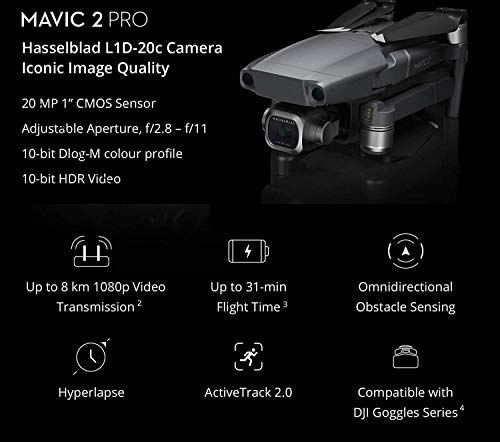 Product Image 4: DJI Mavic 2 Pro Drone with Smart Controller - With 64GB MicroSDXC Card