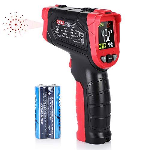 Termometro a Infrarossi, Termometro Laser Digitale Pistola Infrarossi Range da -50C a 680C (-58 ~ 1056 ) LCD Retroilluminato Batteria Inclusa, per testare temperatura interno forno a legna cucina