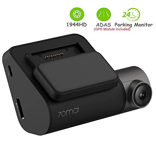 70mai DashCAM con WiFi Incorporado, Control de Voz, grabación de Emergencia, Monitorización de estacionamiento 24H