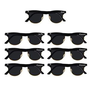 Bachelor Party Supplies 7pcs Weddings Sunglasses for Groom, Best Man, Groomsmen