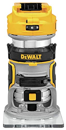 DEWALT 20V MAX XR Cordless Router, Brushless, Tool Only (DCW600B)