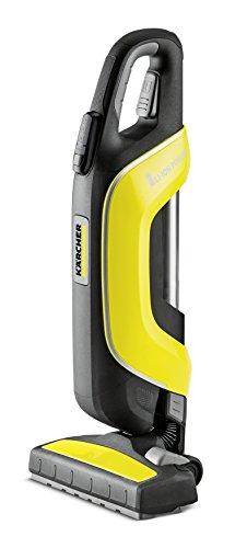 Kärcher Handstaubsauger VC 5 Cordless (Akkulaufzeit: bis zu 40 min, beutelloses Filtersystem, platzsparend, Teleskopsaugrohr, 3-stufige Leistungsregulierung, abnehmbare Bodendüse mit flexiblem Gelenk)