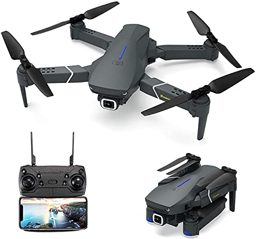 EACHINE E520 Drone with Camera 4K for Adults WiFi FPV Long Distance Drone with 4K HD 120° Wide Angle Camera 1200Mah Long Flight time Auto Hover RC Drone