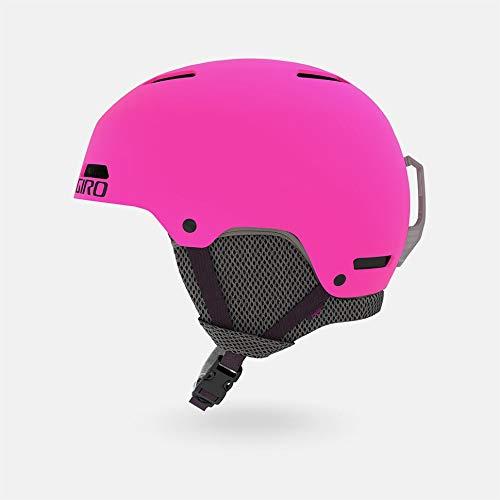 Giro Snow Unisex Jugend CRÜE Junior Skihelm, Matte Bright pink, S