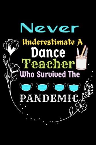 Dance Teacher Gift: Never Underestimate A Dance Teacher Who...