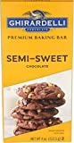 Ghirardelli Premium Baking Bar, Semi Sweet Chocolate, 4 oz