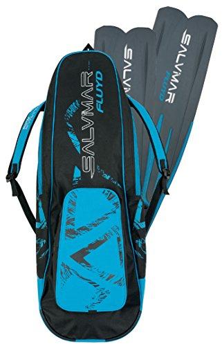 SALVIMAR fluyd Tasche für Tauchen Flossen Unisex Erwachsene, schwarz/blau