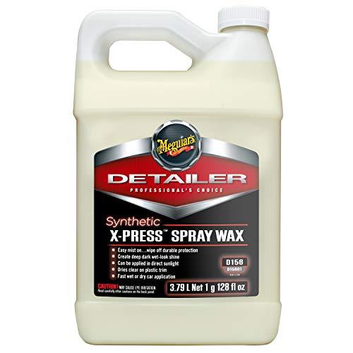 Meguiar's D15601 Synthetic X-Press Spray Wax, 1 Gallon