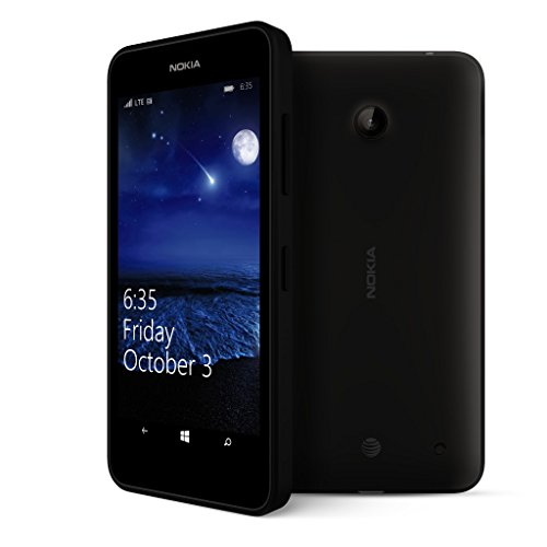 Nokia Lumia 635 No Contract GoPhone with Primary Camera Expandable Memory Smartphone 7