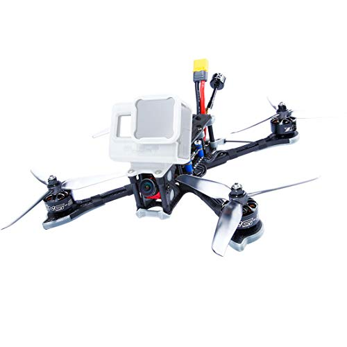iFlight Nazgul5 227mm 4S / 6S 5 Pollici SucceX-EF4 Freestyle FPV Racing Drone BNF PNP SucceX-E F4 Controllore di Volo Caddx Ratel TBS Frsky 45A BLheli_S ESC 2207 Motore 2450KV (4S,BNF with R-XSR RX)