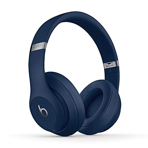 Beats Studio3 Wireless Noise Cancelling On-Ear Headphones - Apple W1 Headphone Chip, Class 1 Bluetooth, Active Noise Cancelling, 22 Hours Of Listening Time - Blue