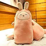 N / A 1 Pieza de Lindo Conejo Suave Almohada de Peluche de Juguete Lindo Conejo sofá cojín de Juguete Lindo Animal Almohada niño Navidad Regalo de cumpleaños 55 cm