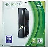 Xbox 360 E 4GO + Commande + jeu Peggle 2 - Couleur Noir