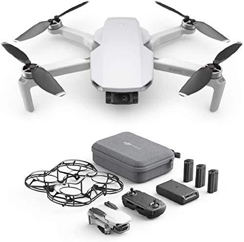 DJI Mavic Mini Combo Drone Leggero e Portatile, Batteria 30 Minuti, Distanza 2 Km, Gimbal 3 Assi, 12...