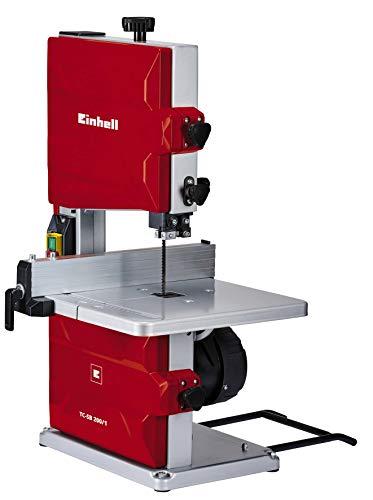 Einhell TC-SB 200/1 Sega a nastro (220-240 V, 250 W velocit nastro 900m/min,escursione 200 mm, taglio obliquo 0-45, altezza taglio max 80 mm)