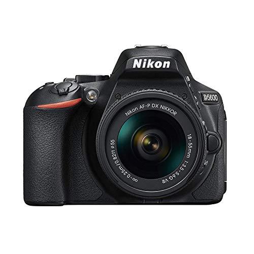 Nikon デジタル一眼レフカメラ D5600 AF-P 18-55 VR レンズキット ブラック D5600LKBK