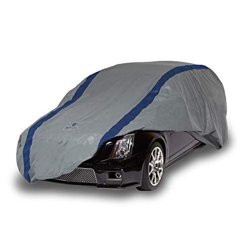 Duck Covers - A3SW200 Weather Defender Station Wagon Cover for Wagons up to 16' 8' Gray/Navy Blue 200 Inch Length x 60 Inch Width x 60 Inch Height