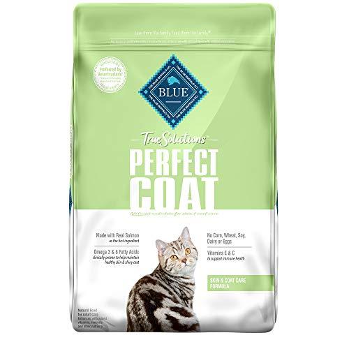 Blue-Buffalo-True-Solutions-Perfect-Coat-Natural-Skin-Coat-Care-Adult-Dry-Cat-Food-Salmon-11-lb