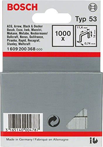 Bosch Professional 1609200368 Graffe, Tipo 53, 11.4 x 14 mm