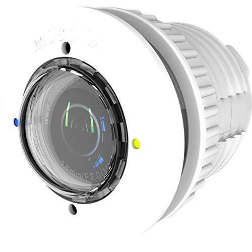 Mobotix MX-SM-D43-PW-6MP-F1.8 - Módulo sensor diurno para videovigilancia, color: negro / blanco