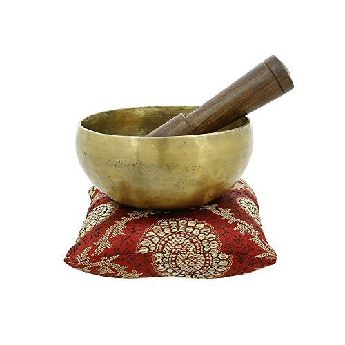 Indian Art Tibetan Singing Bowls for Meditation And Healing Through Vibration 5 Inches Buddhism