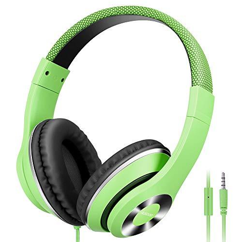 AUSDOM Lightweight Over-Ear Wired HiFi Stereo Headphones...