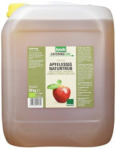 Byodo Apfelessig naturtrüb, 1er Pack (1 x 10 kg Kanister) - Bio