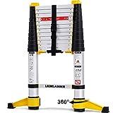 Lionladder EN131-6 Échelles télescopiques Professionnelle Extensible 3,8...