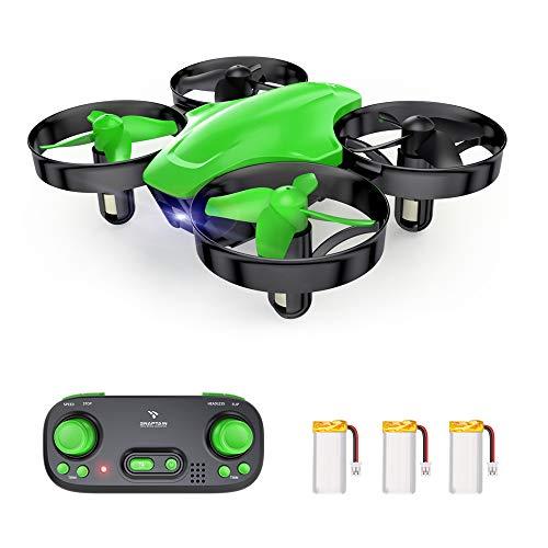 SNAPTAIN SP350 Mini Drone per Bambini, Quadricottero RC con Telecomando, Funzione Hovering, Rotazione del Cerchio, 3D Flip, Decollo/Atterraggio a Un Tasto, Velocit Regolabile, Adatto ai Principianti