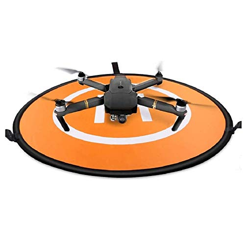 Sipobuy Universale Impermeabile Portatile Pieghevole Drone Landing Pad/Grembiule, Applicabile RC Droni Elicottero, PVB Droni, DJI Mavic PRO Phantom 2/3/4 PRO, Antel Robot, 3DR Solo (75cm)