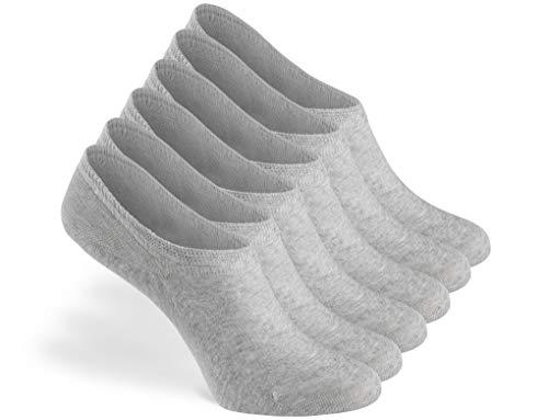 Greylags Calzini Premio Qualit Confortevole Seamless Invisible Sneaker Calzini   Cotone Pettinato Calzini   Uomo e donna   88% cotone   Certificato Oeko-Tex Standard 100   Confezione da 6
