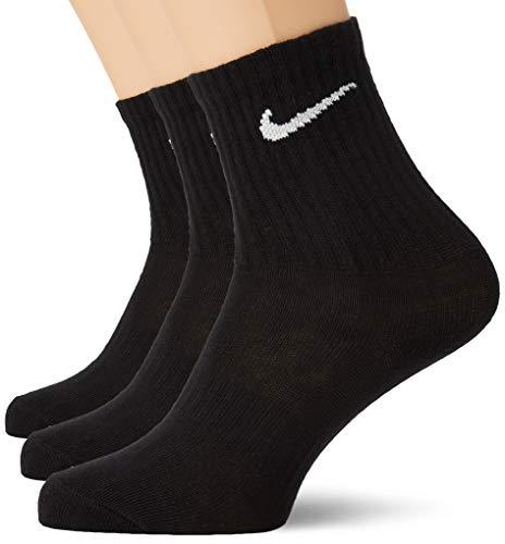Nike Socks Everyday LTWT, Calzini Uomo, Nero (Black/White), 4246 (Taglia produttore: L), Confezione...