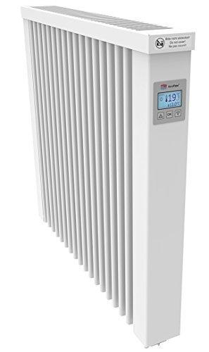 AeroFlow Elektroheizung COMPACT 1300 mit Schamottekern app-Ready FlexiSmart-Displayregler (Android, iOS) elektrische Zusatzheizung, Nachtspeicher Ersatz, Elektroheizkörper-Heizgerät
