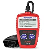 Autel MS309 Universal OBD2 Scanner Check Engine Fault Code Reader, Read Codes Clear Codes, View Freeze Frame Data,...