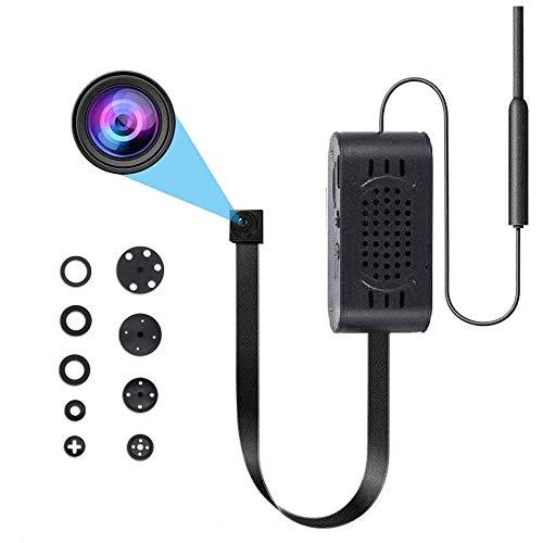 Mini Telecamera Spia, Telecamera Nascosta WiFi HD 1080P Telecamera Wireless per Bambinaia con Rilevamento del Movimento per iOS e Android con Monitoraggio in Tempo Reale (App Tuya)
