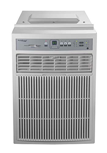 Koldfront CAC8000W 8000 BTU 115V Casement Air Conditioner with Dehumidifier and Remote Control