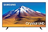 "Samsung TV TU7090 Smart TV 43"", Crystal UHD 4K, Wi-Fi, Black, 2020"