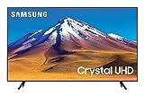 "Samsung TV TU7090 Smart TV 50"", Crystal UHD 4K, Wi-Fi, Black, 2020"